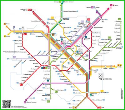 Parte la nuova linea s12 trenord citymapper - Milano porta garibaldi passante mappa ...