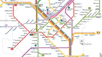 Cartina Milano Con Metro.Mappe Offline Metro E Treni Milano Citymapper